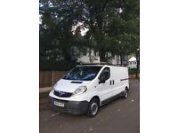 2007 Vauxhall vivaro diesel long wheel base van LOW MILES 67k reliable van