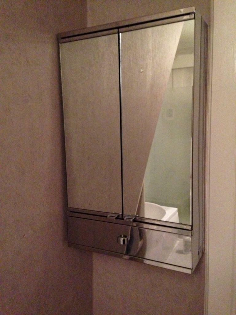 metalkris bathroom cabinet in southside glasgow gumtree