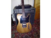 Custom Telecaster and Mesa Boogie 1x12 30w combo amp