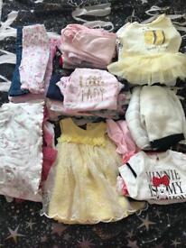Baby girls clothes bundle newborn/0-3 months