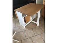 Kitchen foldable table and chairs