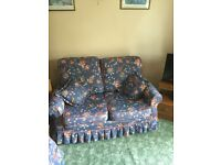 Small sofa and two chairs