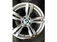 "Full Set of BMW X5 & X6 Original //M Sport 19"" alloy wheels for sale"