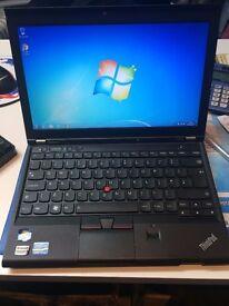 "lenovo thinkpad x230 core i5-3320m @ 2.60ghz (320gb,4gb) 12.5"" screen with cam 3rd generation"