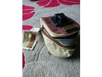 Moray retro saddle bag