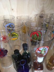 Wanted Norwich Beer Festival Glasses 1985 pint and half
