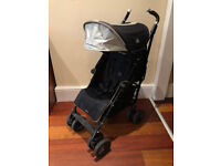 Maclaren Techno XT Black Single Seat Umbrella Stroller Great Condition for sale  Croydon, London