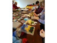 Needle Felt with Mindfulness Workshop Sat 24th Feb 10am-1pm, Imperial Hotel Stroud.