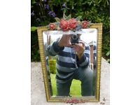 Delightful Antique (small) dressing table mirror