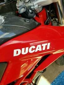ducati hypermotared bike