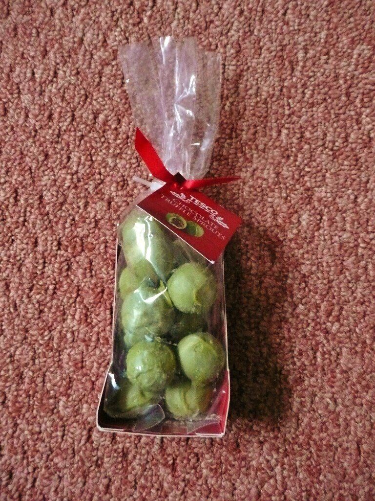 Tesco Chocolate Truffle Brussel Sprouts 150g