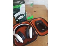Razer Kraken Pro 2014 Over-Ear Analog Gaming Headset - White with Hard Case