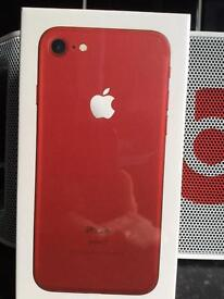 APPLE IPHONE 7 RED128gb BRAND NEW & UNOPENED