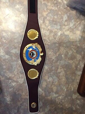 WBO Belt World Boxing Organization Gürtel