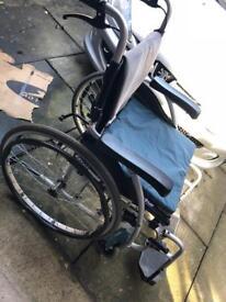 Wheel chair, self propelled