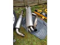 Milltek system stainless steel. Came off mk4 golf tdi