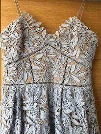 Self portrait lilac azaelea dress size 12 excellent condition