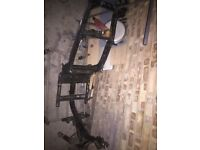 50cc piaggio typhoon frame engine and forks for 300