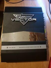 Lanzar Vector 800w amplifier