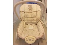 Mothercare cream baby bouncer