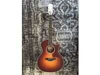 Taylor 714 CE Acoustic Guitar Sunburst (px Gibson or Fender)