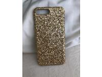 Gold sparkle cover fir i phone 8 +