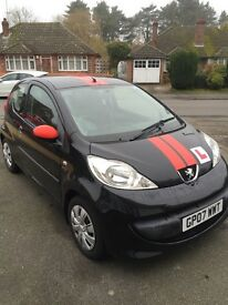 Peugeot 107 1.0l - Low Mileage - Great First Car