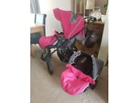 X lander x move pushchair 2in1