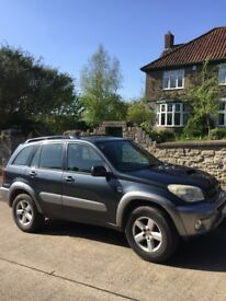 Rav 4 5D. New Clutch/Dual mass. Cambelt &Turbo & front brakes. Leather interior.