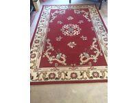Big living room rug 285 cm 190 cm