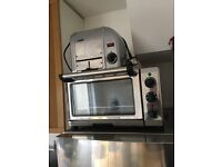 Dualit 89200 Mini Oven, 18L, 1300w Stainless Motorhome Camper Boat Small Oven