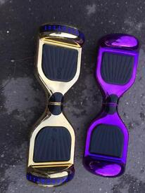 Purple classic Hoverboard Segway with samsung battery