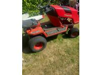 Countax ride on lawn tractor lawnmower breaking parts wheels gearbox chassis make good race mower