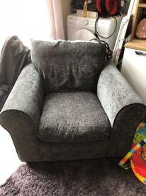 2x arm chairs