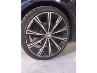 Bmw alloy wheels Zito CRS Alloy Wheels Gloss Black with Polished Face 20x9.5 5x120
