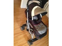 Peg Perego Venezia Pushchair Stroller Great Easy Fold!