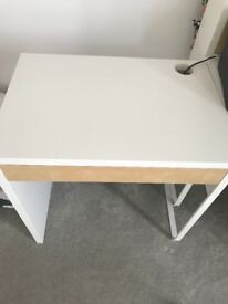 Small study desk with drawer
