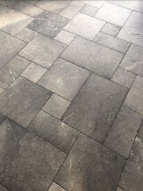 Hand Tumbled Natural Lime Flagstones (50 square metres).REDUCED.