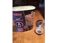 Anti Colic Bottles (Nuby) x 2 with 2 x spare teats