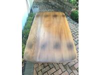 *** REDUCED FOR QUICK SALE *** Beautiful rare vintage Golden Dawn Ercol table