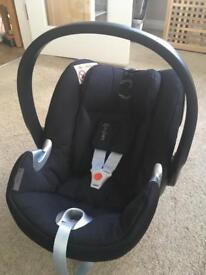 Cybex Aton Q Car Seat + ISO-FIX Base