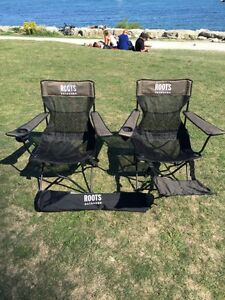 Roots foldable chairs