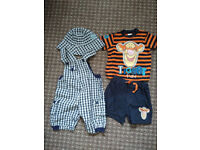 Bundle of new (U.S. Polo Assn. Romper) and very good condition Summer clothes for boy 6-9 mths.