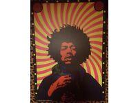 Jimi Hendrix Canvas. £5