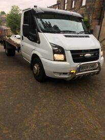 Transit recovery truck 2009 reg alloy light body slide away ramps drives excellent no faults