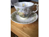 Royal Doulton Bramley Hedge Spring & Autumn Cup & Saucer sets