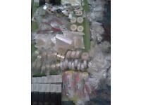 Salon,party,shop, Beauty stock,inc 600 pairs false eyelashes, nails,