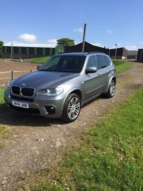 BMW X5 M SPORT XDRIVE30D AUTO 8 SPEED 62,000 MILES