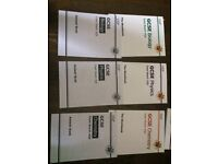 CGP AQA Work books with answers Chemistry, Biology, Physics