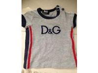 Baby boy d&g tracksuit